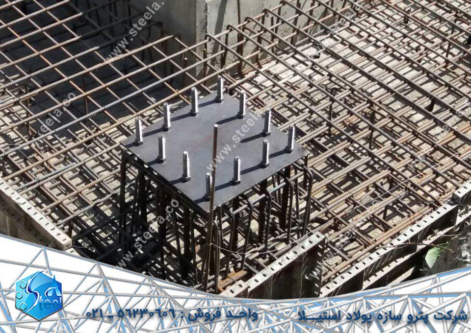 سازه فولادی استیلا-اسکلت فلزی-مزایای ساخت اسکلت فلزی پیچ و مهره ای